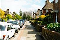 Fig 14 - Top of Corringham Road 1997 photo(18k)