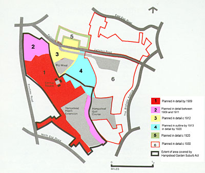 Development plan of the Garden Suburb