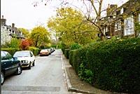 Fig 23 - Reynolds Close, towards heath 1997 photo(17k)