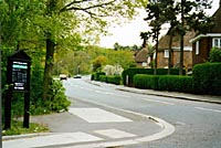 Fig 28 - Hampstead Way, near Wellgarth Road, 1997 photo(18k)