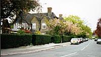 Fig 41 - Wildwood Road, start of northern end 1997 photo(14k)