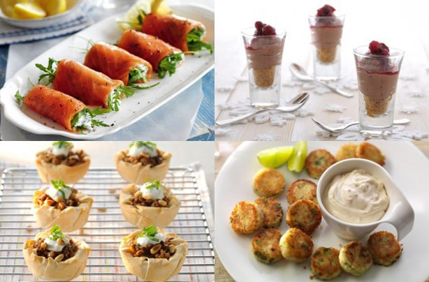 Events for Canape party menu